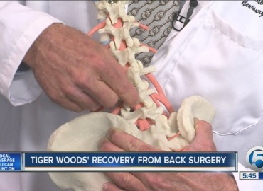 Tiger Woods: Low Back Pain in Golf